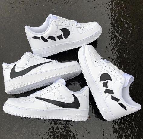 Nike Air Force 1 snake in 2020 Air Force one sko, Nike  Air force one shoes, Nike