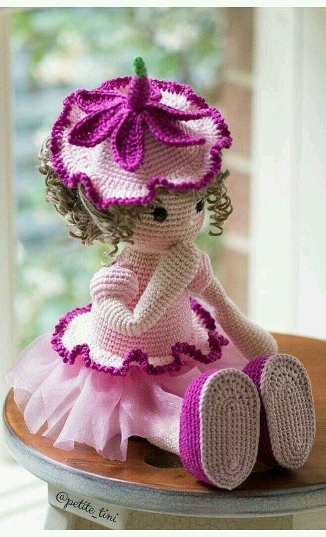 Boneca Molly- Amigurumi | Tricrochetando com a Jane | 777x473