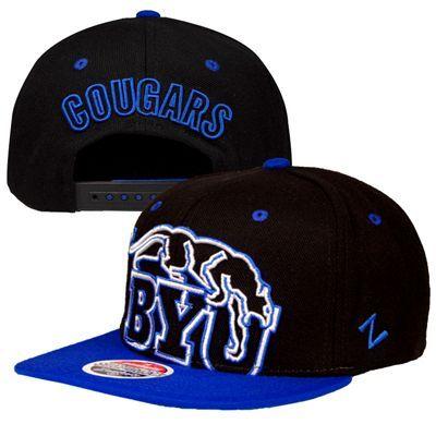bddf19cfd6e BYU Cougars For Bare Feet NCAA Duece Sock (Black) at Fanzz.com ...