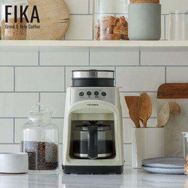 全自動でありながら本体はb5サイズに収まるコンパクト設計のコーヒーメーカー ポイント10倍 送料無料 Recolte グラインド ドリップ コーヒーメーカー フィーカ 全電動 ミル付き 珈琲 コーヒー豆 コンパクト 紙フィルター不要 コーヒーメーカ コーヒーメーカー