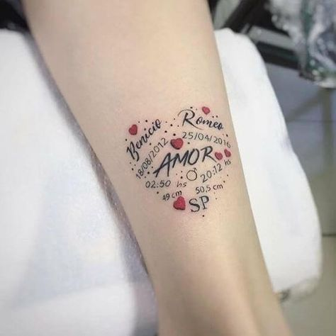 In addition to fashion and faith, tattoos should have a certain meaning. In this issue, creative small tattoos for moms with kids are recommended. #tattoos