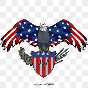 American Flag Shield American Eagle Hand Painted Elements National Flag Hand Painted Bald Eagle Png Transparent Clipart Image And Psd File For Free Download Hand Painted American Flag American Flag Shield