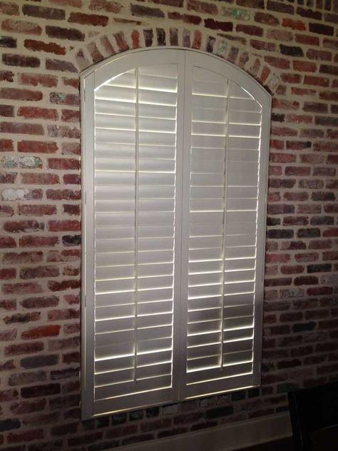 Specialty Shaped Window Treatments