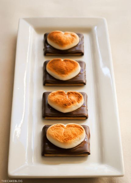 Argue over who loves who s'more - Valentine's Day Treats for Kids - Photos