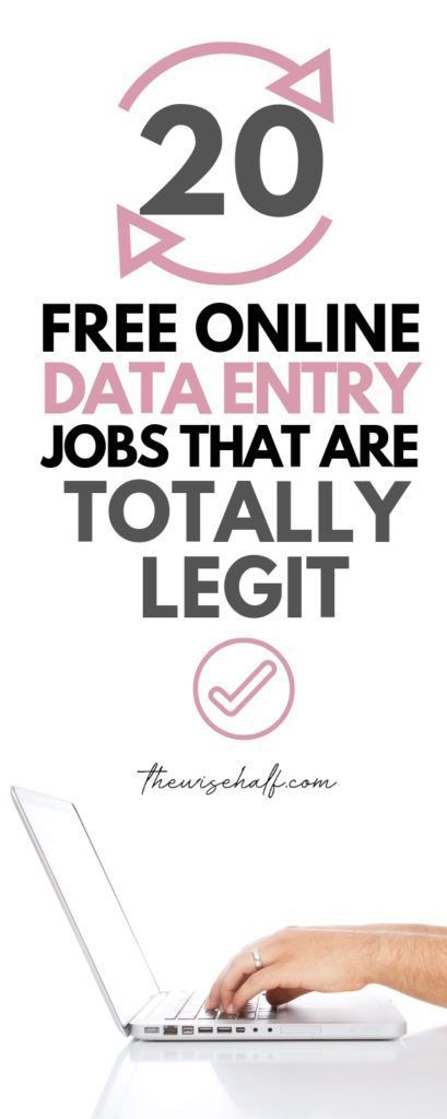 20 Legitimate Data Entry Jobs From Home Without Investment. - The wise half