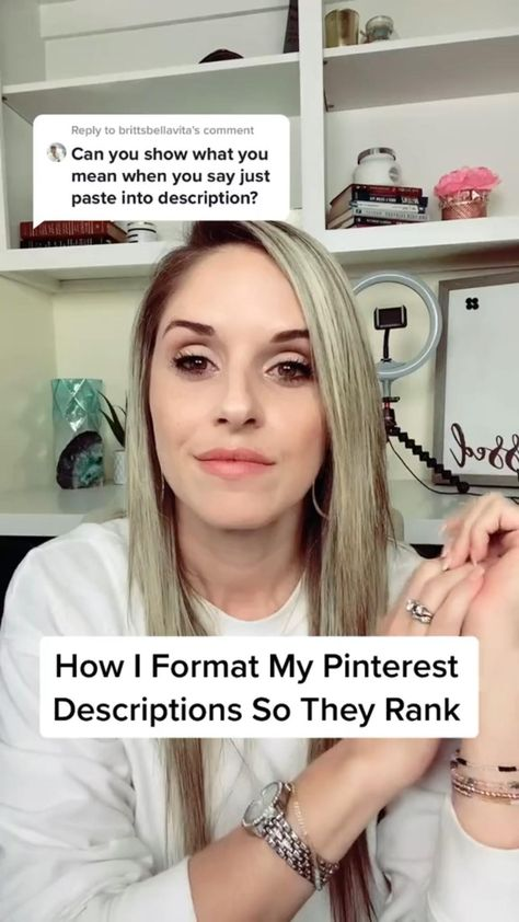 HOW I FORMAT MY PINTEREST DESCRIPTIONS SO THEY RANK ЁЯУМЁЯФе