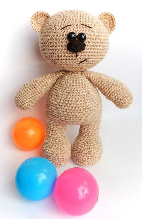 Amigurumi Bear pattern. Crochet pattern. Amigurumi animals | Etsy
