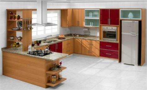 Cozinha Pequena Disposicao Dos Moveis Cor Decoracao Iluminacao