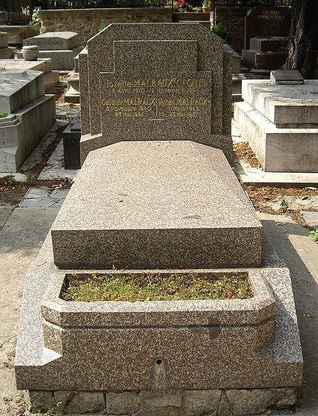 André Malraux Pierre-gauthier Malraux : andré, malraux, pierre-gauthier, Histoire, Paris,, Cimetières,, Cimetière