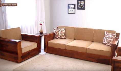 Pune In 2019 My Favourite Wooden Sofa Set Wooden Sofa Designs Sofa
