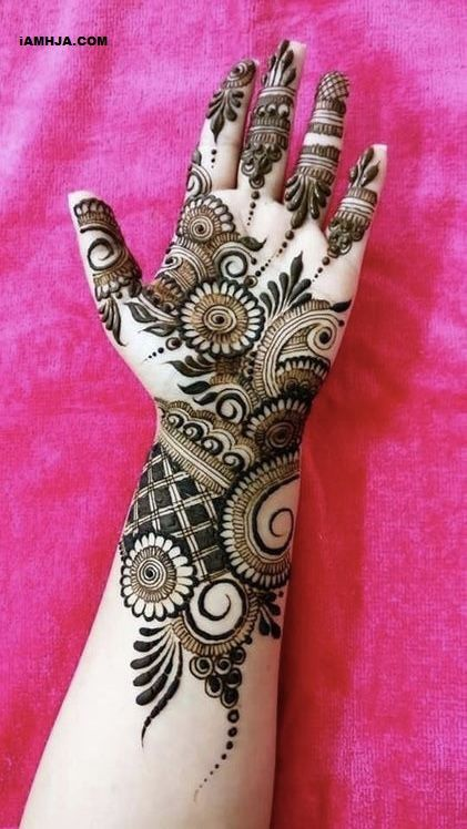 Top Fabulous Bridal Mehndi Designs Images 2019 Iamhja