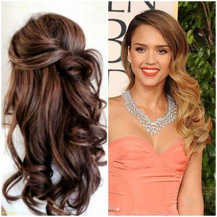 Wedding Hair For One Shoulder Dress Lovely Lovely Wedding Hairstyles For Long Hair Askweddingdresses Hair Styles Mother Of The Bride Hair Long Hair Styles Men