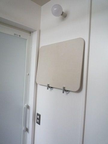 想定していなかった使い方をしている脱衣室フック 脱衣室 お風呂場