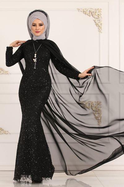 Modaselvim Abiye Sifon Detay Balik Abiye Ygs6204 Murdum Print Chiffon Maxi Dress Chiffon Maxi Dress Dresses