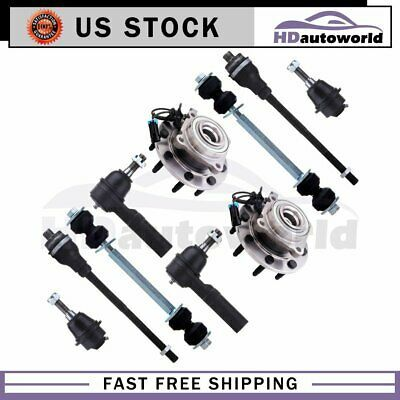 Details About All 10 Wheel Bearing Hub Tie Rod Fits 2007 2008 2010 Silverado Sierra 3500 Hd In 2020 Ebay Silverado Chevrolet Captiva Sport