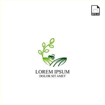 مفهوم بسيط تصميم شعار الزراعة والتكنولوجيا الزراعية Logo Design Design Lorem Ipsum