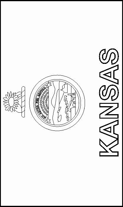 Kansas State Flag Coloring Page Fresh Colouring Book Of Flags United States Of America Kansas State Flag Kansas Day Kansas