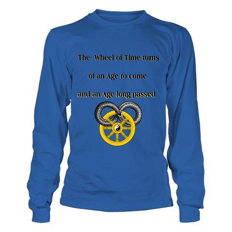 Wheel of time logo Men/'s T-shirt