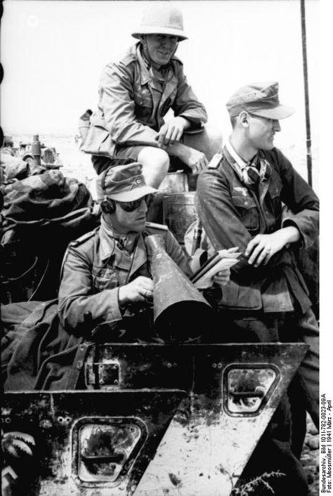 1939 1945 Soldats de l'Afrika Korps en 1941.