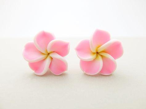 Hawaii Flower Ohrstecker