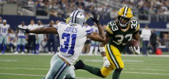 Aaron Jones Torches Cowboys Waves Goodbye With Disrespectful Gesture On 3rd Of 4 Tds Live Nfl Cowboys Nfl Football Games