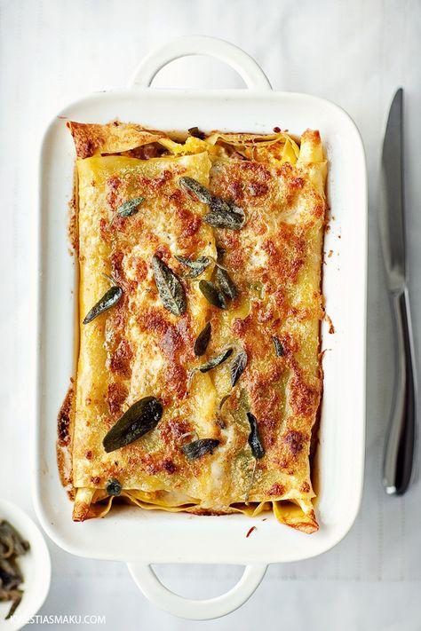 Pumpkin Lasagna… tradition on thanksgiving eve