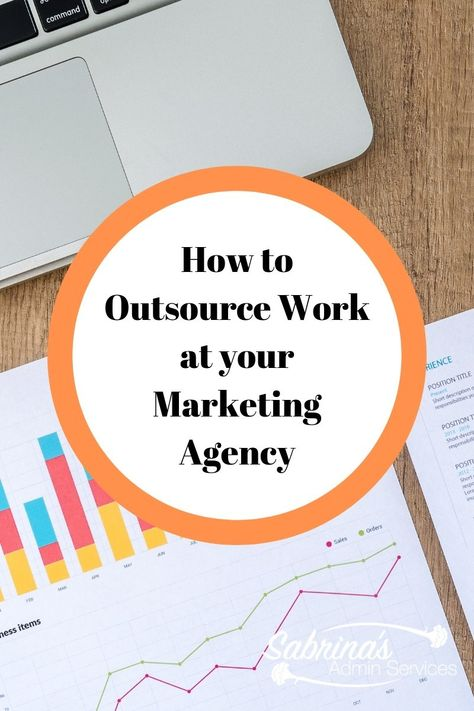 How to outsource work at your marketing agency | Sabrina's Admin Services