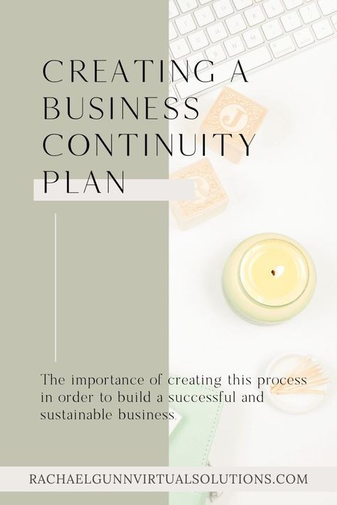 Protecting Your Online Business with Continuity Planning