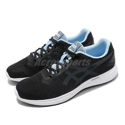 Asics Womens Patriot 10 Running Shoes Trainers Sneakers Black Sports Breathable