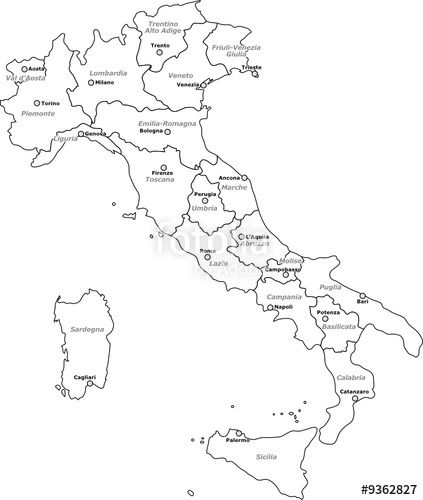 Cartina Politica Italia Formato A3.21 Idee Su Carte Geografiche Geografia Carte Geografiche Attivita Geografia