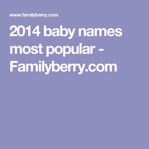 Baby Names Most Popular In Greenland Kalaallit Nunaat Gronland