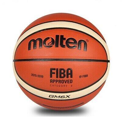 Advertisement Ebay Molten Gm6x Bgm6x Fiba Approved Indoor Outdoor Basketball Women S Size 6 28 5 Street Basketball Basketball Sports Team