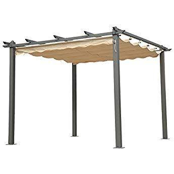 Angel Living Aluminium pergola tonnelle Parfait Pour Votre Terrasse ...