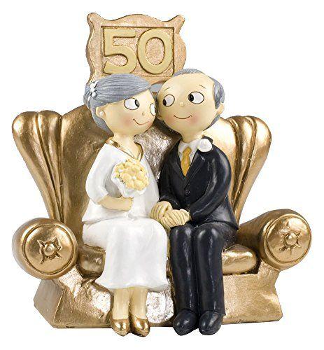 Cake Topper Anniversario Nozze D Oro Nozze D Oro Torte Di