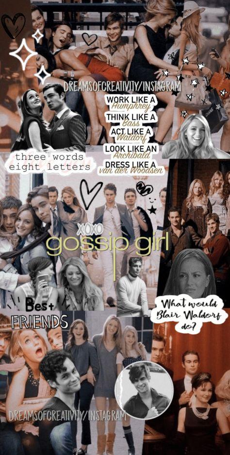 Aesthetic Gossip Girl Wallpaper