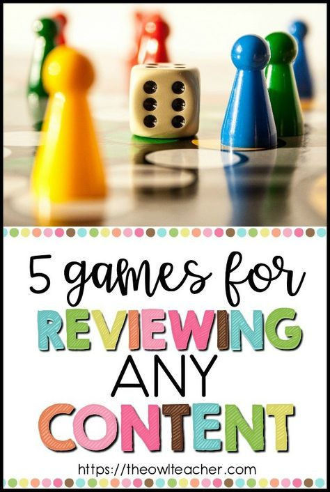 5 Games for Reviewing Any Content
