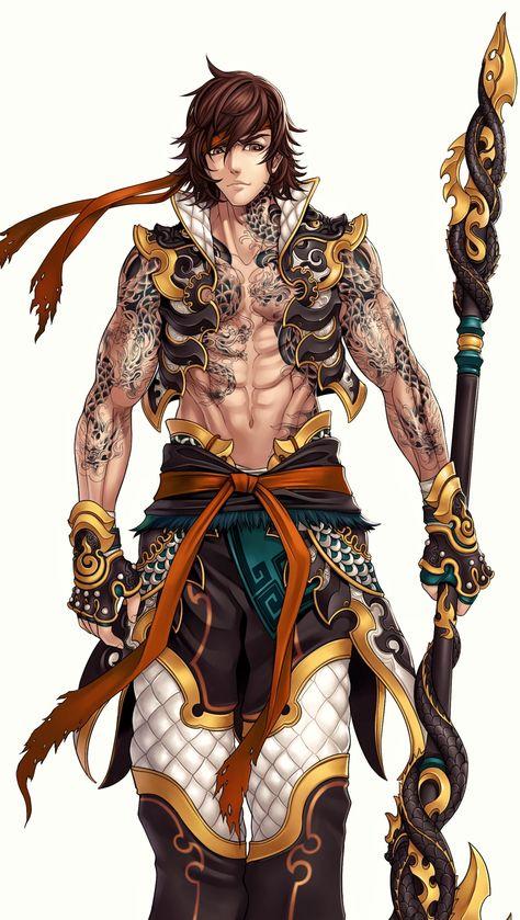 Pride of soul (male warriors), Ren Wei Pan