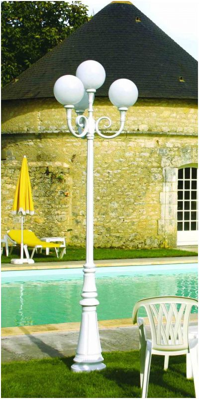 15 Ideal Lampadaire Exterieur Boule Ceiling Lights Chandelier Decor