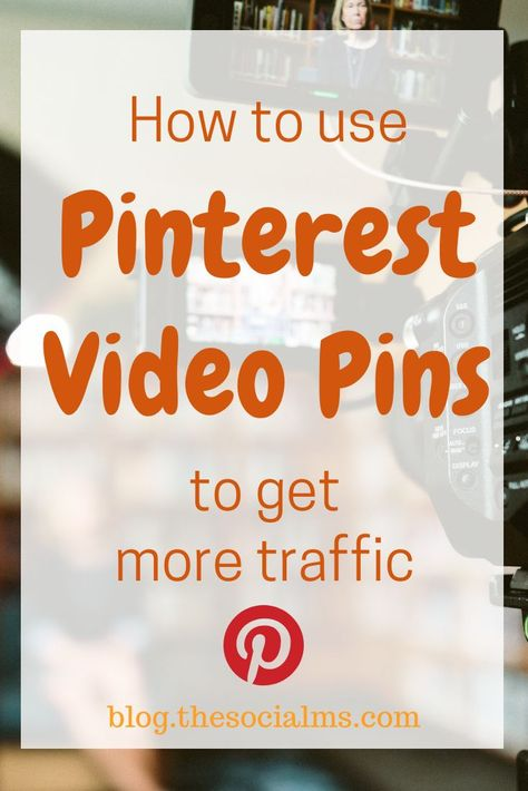 What are they and how can you use them?  Video pins have been on Pinterest for a while now - it started with pinnable videos from other sites, then you could have video ads, and for some time you can now upload your videos straight to Pinterest. Here is how to use Pinterest video pins to get more traffic #pinterest #trafficgeneration #blogtraffic #pinteresttips #pintereststrategy #pinterestmarketing #socialmedia #socialmediatips