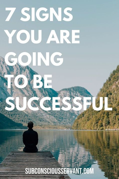 Are you destined for success? Here are 7 signs that can indicate that you are going to be successful. Which trait is your strongest? #Success #Successful #Motivation   via @subconsciousservant