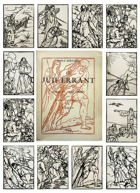 Emile Bernard - Le Juif Errant
