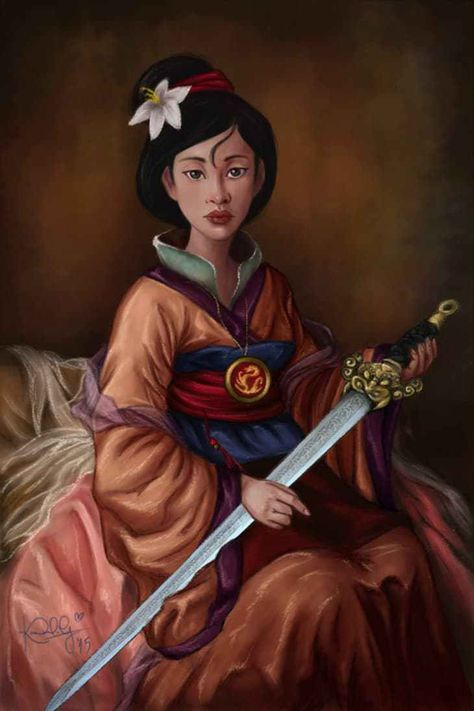 Karen de la Garza is clearly a fan of museums! Her series of Disney royal portraits paints our favorite characters in a whole new light, taking inspiration from some of the great portraits commissioned by