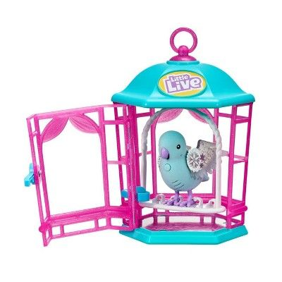 Little Live Light Up Song Bird In Cage Snow Gleam Little Live Pets Live Light Light Up
