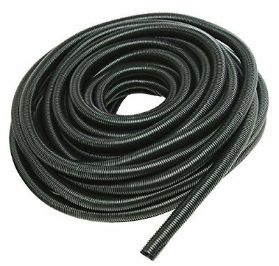 100 Feet 1 4 Split Loom Tubing Wire Conduit Hose Cover Auto Home Marine Black Things To Sell Marine Flexible Tubing