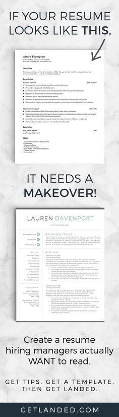 17 Best images about Resumes on Pinterest Resume templates, My - how to make your resume better