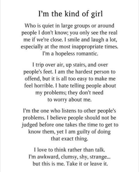 After reading this I can so relate that describes me in every which way! #Freaky