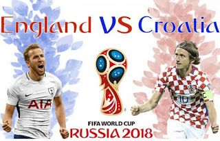 Jb Light Croatia Vs England The Three Lions Unchanged For S World Cup Fifa World Cup World Cup Final