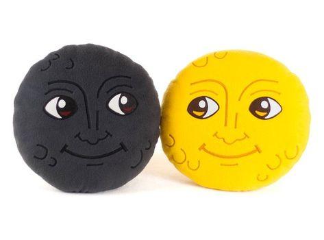 New Moon Face Pillow Creepy Moon Cushion Dark Moon Emoji Etsy In 2020 Weird Gifts Face Pillow Emoji Pillows