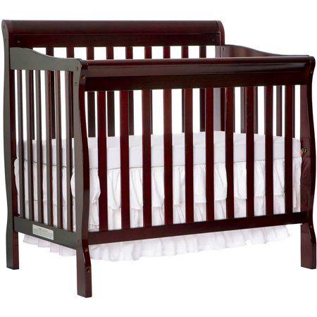 Dream On Me Aden 4 In 1 Convertible Mini Crib Espresso Walmart Com Best Baby Cribs Cribs Baby Cribs