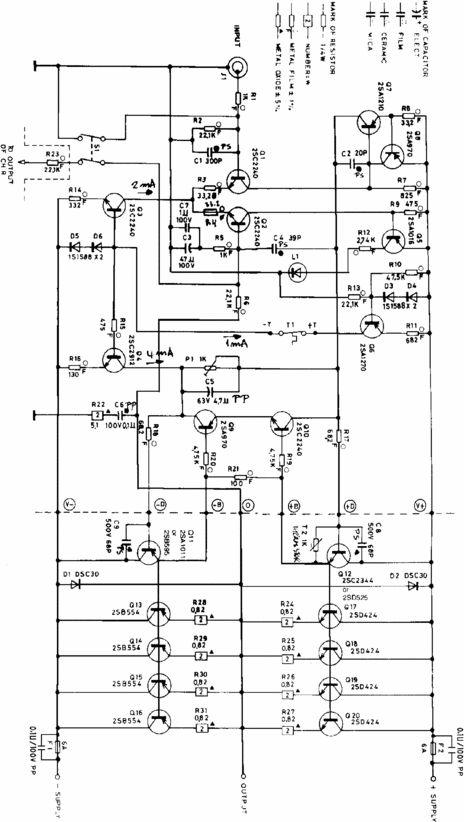 ADCOM 555 Original Schematics for Service-Repair in 2020